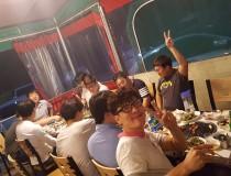 2017년 9월 회식 및 송별회