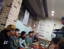 2017년 3월 회식 및 송별회